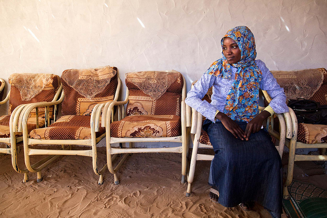 Masher Duma got married at 13 to a 35 year old man. Image credit: UNAMID/Flickr